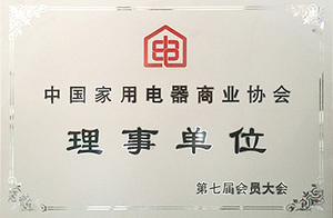 Council member of China household electrical appliance commercial association